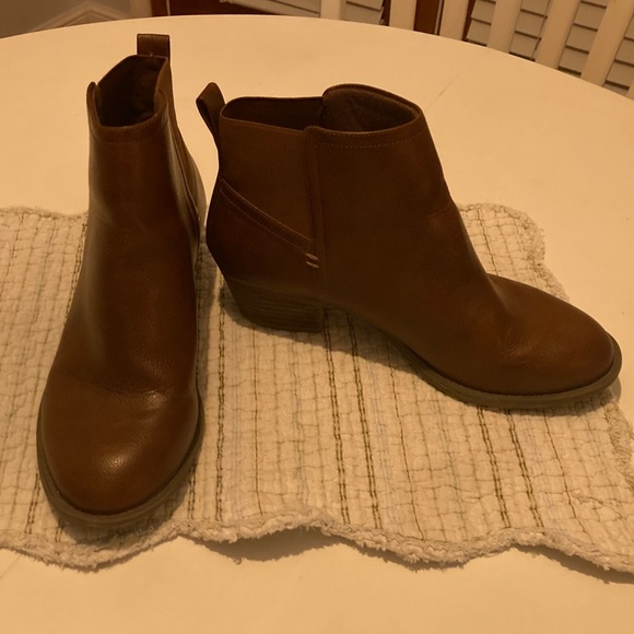 Dr Scholls Memory Foam Brown Ankle Boots